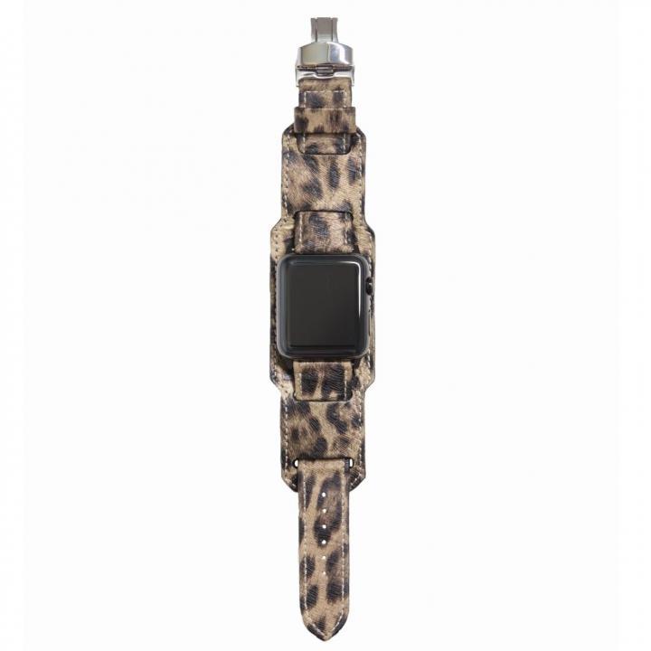 AppleWatch Strap 38mm 台座有り LEOPARDO シルバーパーツ_0