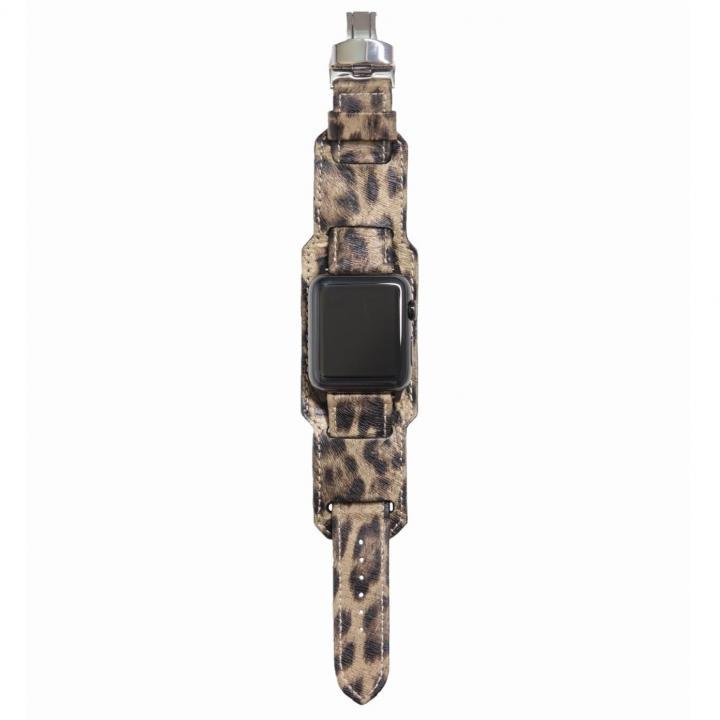 AppleWatch Strap 38mm 台座有り LEOPARDO ブラックパーツ_0