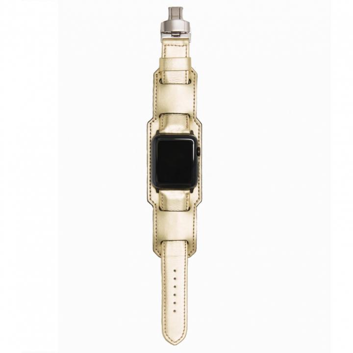 AppleWatch Strap 38mm 台座有り ORO シルバーパーツ_0