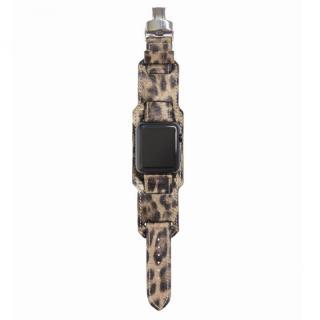 AppleWatch Strap 42mm 台座有り LEOPARDO シルバーパーツ