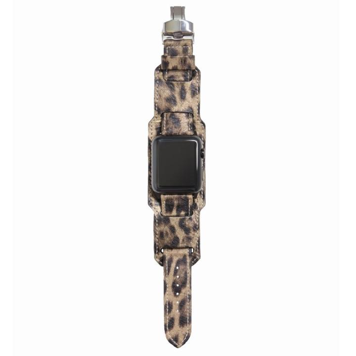 AppleWatch Strap 42mm 台座有り LEOPARDO ブラックパーツ