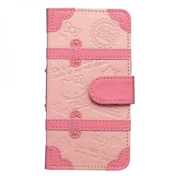 【iPhone6ケース】ハローキティ 手帳型ケース ハートリボン iPhone 6ケース_0