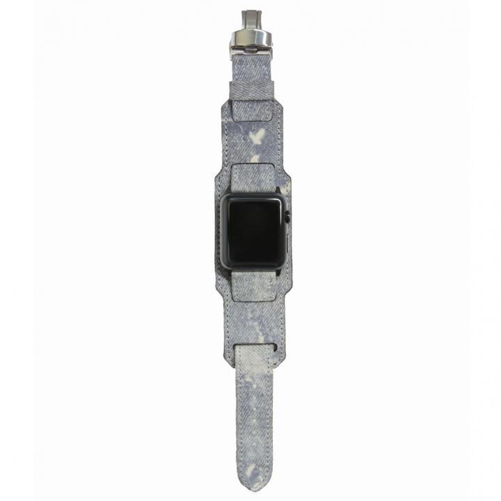 AppleWatch Strap 42mm 台座有り Trompe-l'oeil シルバーパーツ_0