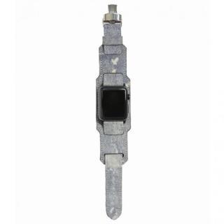 AppleWatch Strap 42mm 台座有り Trompe-l'oeil シルバーパーツ