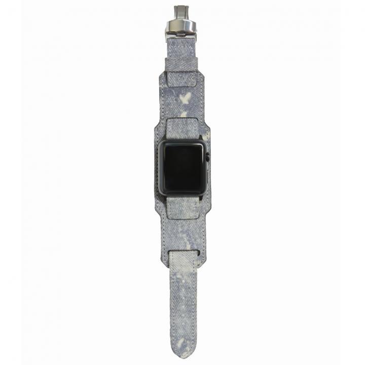 AppleWatch Strap 42mm 台座有り Trompe-l'oeil ブラックパーツ_0