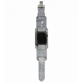 AppleWatch Strap 42mm 台座有り Trompe-l'oeil ブラックパーツ