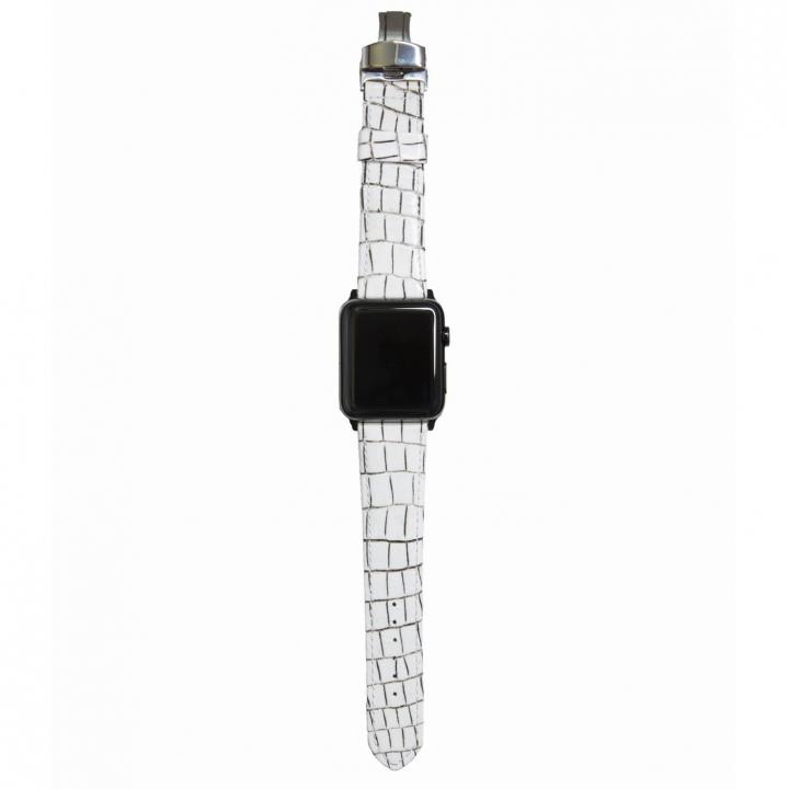 AppleWatch Strap 38mm LASTRICARE ブラックパーツ_0
