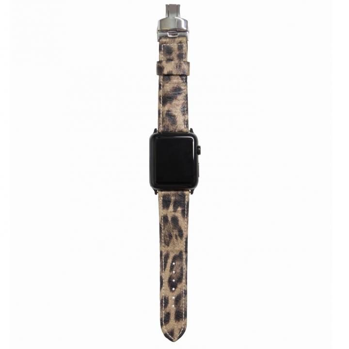 AppleWatch Strap 38mm LEOPARDO シルバーパーツ_0