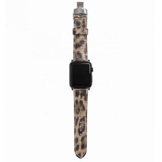 AppleWatch Strap 38mm LEOPARDO シルバーパーツ