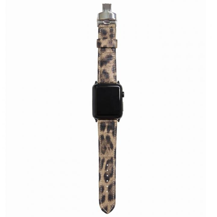 AppleWatch Strap 38mm LEOPARDO ブラックパーツ_0