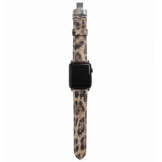 AppleWatch Strap 38mm LEOPARDO ブラックパーツ