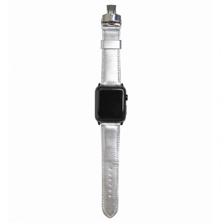 AppleWatch Strap 38mm ARGENTO シルバーパーツ_0