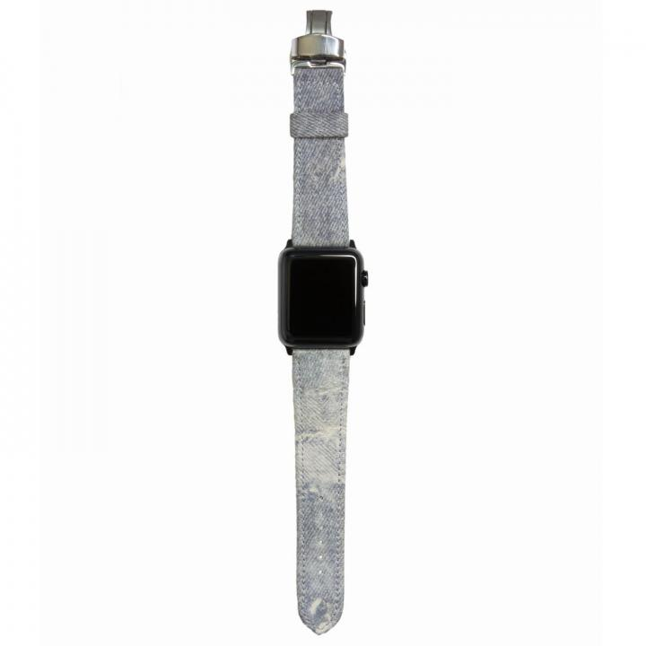 AppleWatch Strap 38mm Trompe-l'oeil ブラックパーツ_0