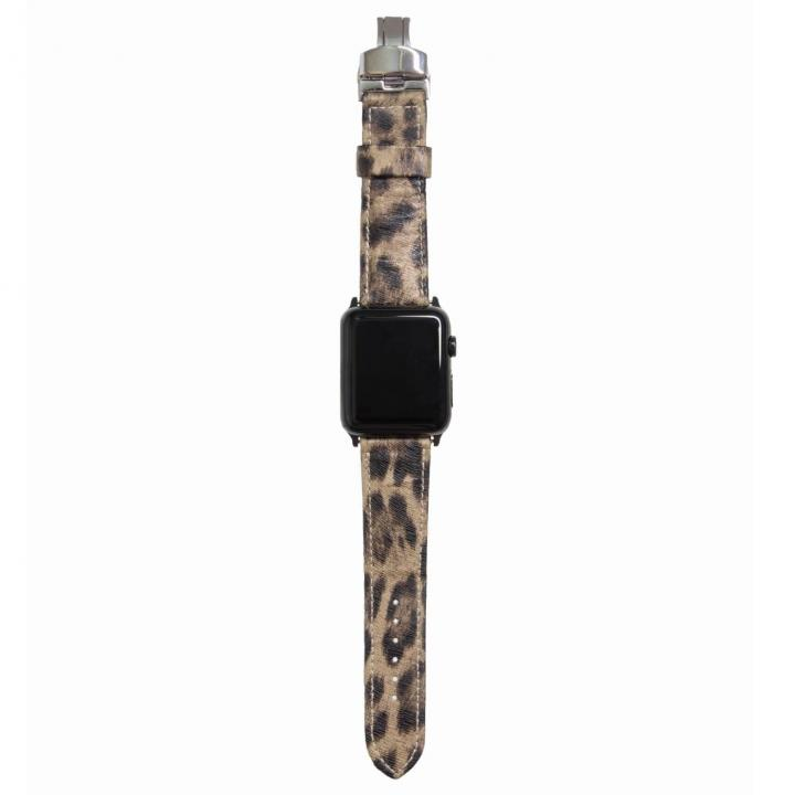 AppleWatch Strap 42mm LEOPARDO ブラックパーツ_0