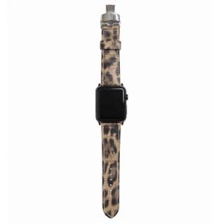 AppleWatch Strap 42mm LEOPARDO ブラックパーツ
