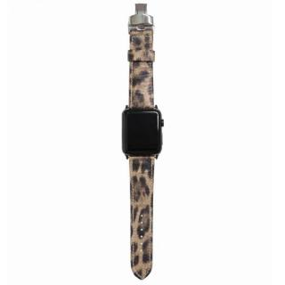 AppleWatch Strap 42mm LEOPARDO シルバーパーツ
