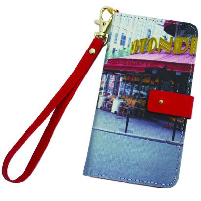 【iPhone6ケース】Afreak 手帳型ケース 街角 iPhone 6ケース_0
