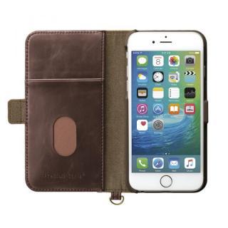 【iPhone6s/6ケース】Premium Style PUレザー手帳型ケース キャンバス ネイビー iPhone 6s/6_3