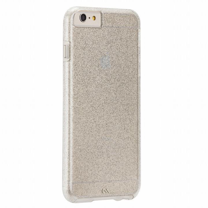 シアーグラムケース シャンパンゴールド iPhone 6 Plusケース