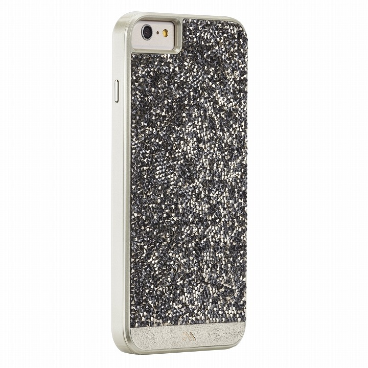 ブリリアントケース シャンパンゴールド iPhone 6 Plusケース