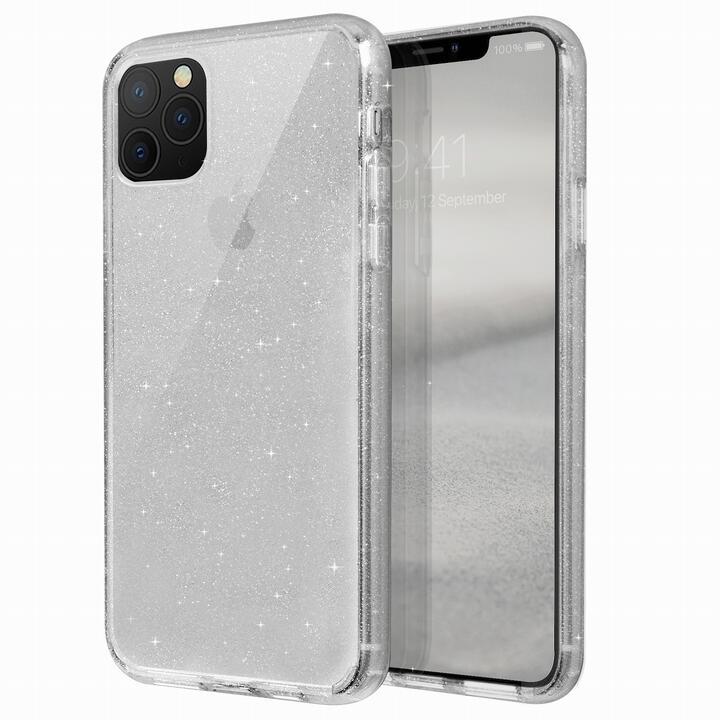 iPhone 11 Pro Max ケース UNIQ Lifepro Tinsel 耐衝撃ハイブリッド素材採用 ラメ入りクリアケース クリア iPhone 11 Pro Max_0