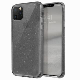 iPhone 11 Pro Max ケース UNIQ Lifepro Tinsel 耐衝撃ハイブリッド素材採用 ラメ入りクリアケース スモーク iPhone 11 Pro Max