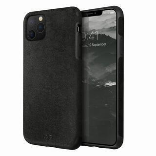 iPhone 11 Pro ケース UNIQ Sueve スエードレザー素材採用ケース Black iPhone 11 Pro