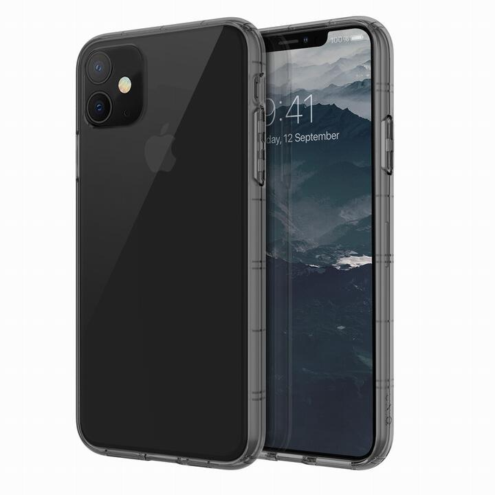 iPhone 11 ケース UNIQ Air Fender 衝撃吸収TPUクリアケース グレイ iPhone 11_0