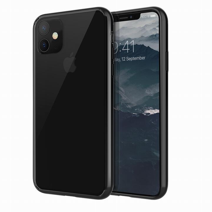 iPhone 11 ケース UNIQ Lifepro Xtreme 耐衝撃ハイブリッド素材採用 クリアケース ブラック iPhone 11_0