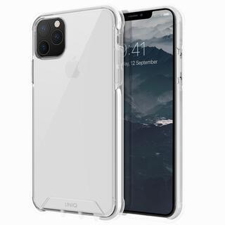 iPhone 11 Pro Max ケース UNIQ Combat 耐衝撃ハイブリッド素材採用 米軍軍事規格 クリアケース ホワイト iPhone 11 Pro Max
