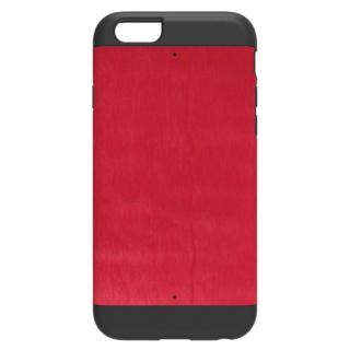天然木 Man&Wood プロテクションタイプ ビビッドアザレア ブラックフレーム iPhone 6ケース