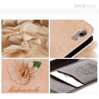 【iPhone6ケース】マドモワゼル 手帳型ケース iPhone 6ケース_4