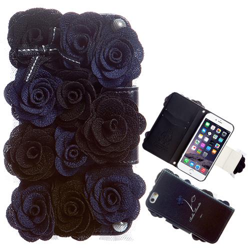 iPhone6 ケース ベラロゼット 手帳型ケース iPhone 6ケース_0