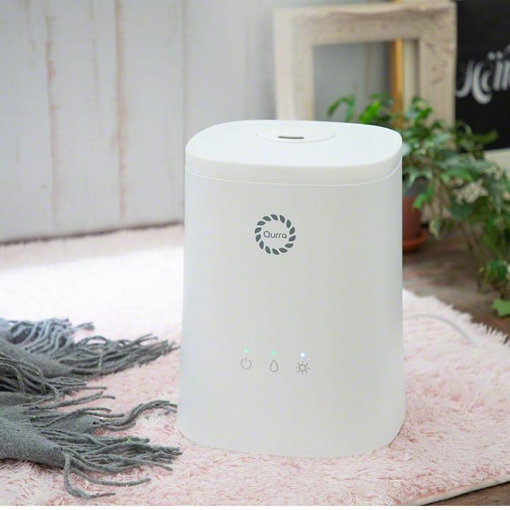 超音波加湿器 4.5L Mois Vinie Light モイス ビニエ ライト ホワイト_0