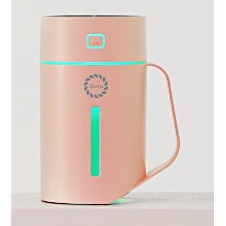 充電式卓上加湿器 420ml Mois Tac モイス タック ピンク【10月下旬】_0