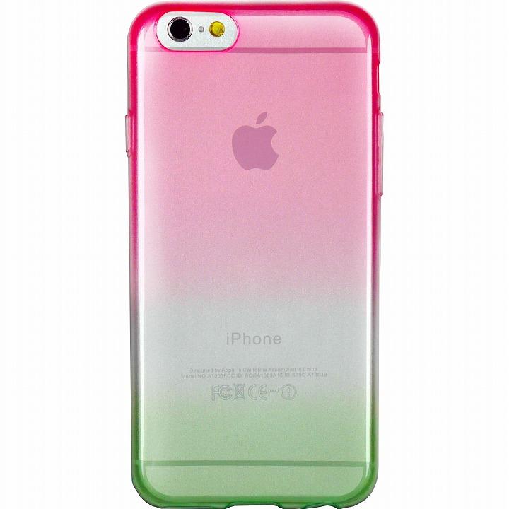 【iPhone6ケース】鮮やかなカラーリング 染 桜 iPhone 6ケース_0