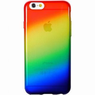 鮮やかなカラーリング 染 虹 iPhone 6ケース