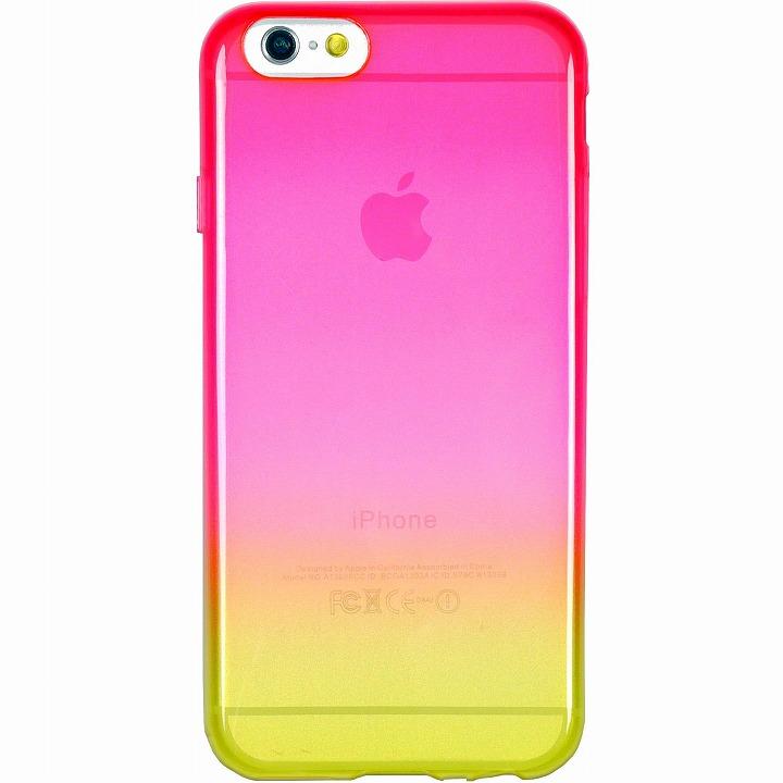 鮮やかなカラーリング 染 蘭 iPhone 6ケース