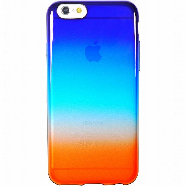 鮮やかなカラーリング 染 暁 iPhone 6ケース