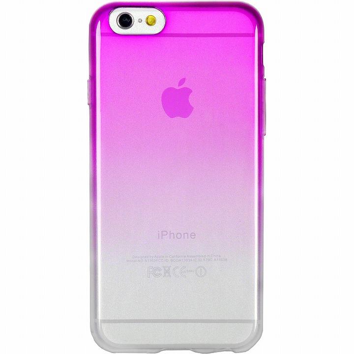 【iPhone6ケース】鮮やかなカラーリング 染 紫 iPhone 6ケース_0