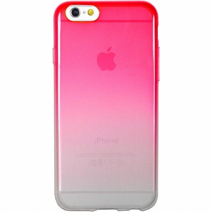 鮮やかなカラーリング 染 赤 iPhone 6ケース