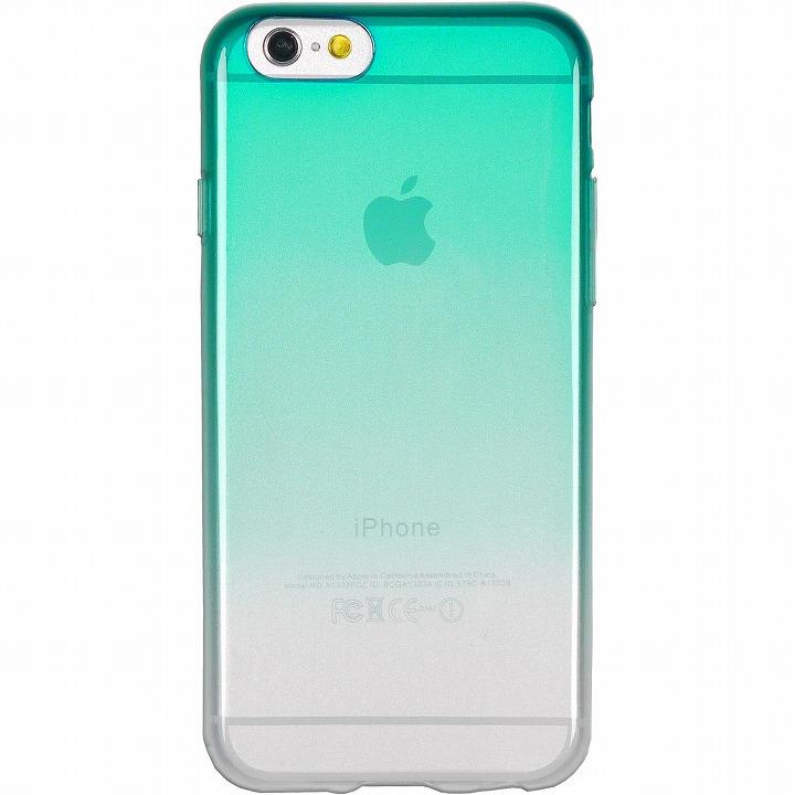 鮮やかなカラーリング 染 緑 iPhone 6ケース