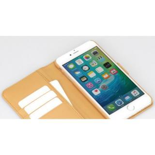 【iPhone6sケース】TUNEWEAR TUNEFOLIO TRAD 手帳型ケース キャメル iPhone 6s/6_4