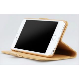 【iPhone6sケース】TUNEWEAR TUNEFOLIO TRAD 手帳型ケース キャメル iPhone 6s/6_5
