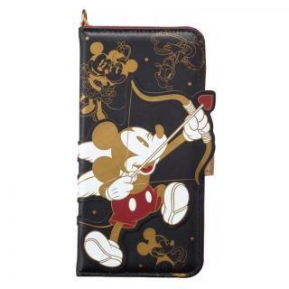 ディズニー ダイカット手帳型ケース ミッキー&フレンズ iPhone X