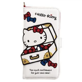 ハローキティ ダイカット手帳型ケース KTトラベル iPhone X