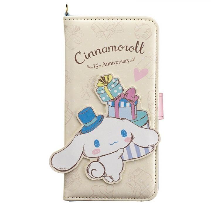 [2018新生活応援特価]シナモロール ダイカット手帳型ケース CNプレゼント iPhone X