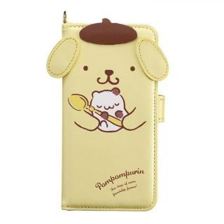 ポムポムプリン ダイカット手帳型ケース PNお茶会 iPhone X