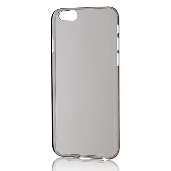 【iPhone6フィルム】パワーサポート エアージャケットセット クリアブラック iPhone 6 ケース_0