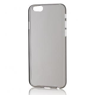 パワーサポート エアージャケットセット クリアブラック iPhone 6 ケース